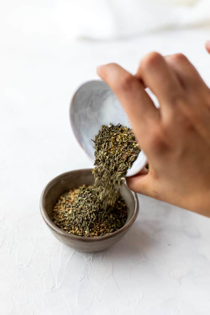 This easy-to-make za'atar spice mix recipe can elevate most meals and snacks! Try on crispy potatoes, tofu scramble, add to labneh, mix with olive oil to drizzle on pita, make a tempeh marinade... so many possibilities.