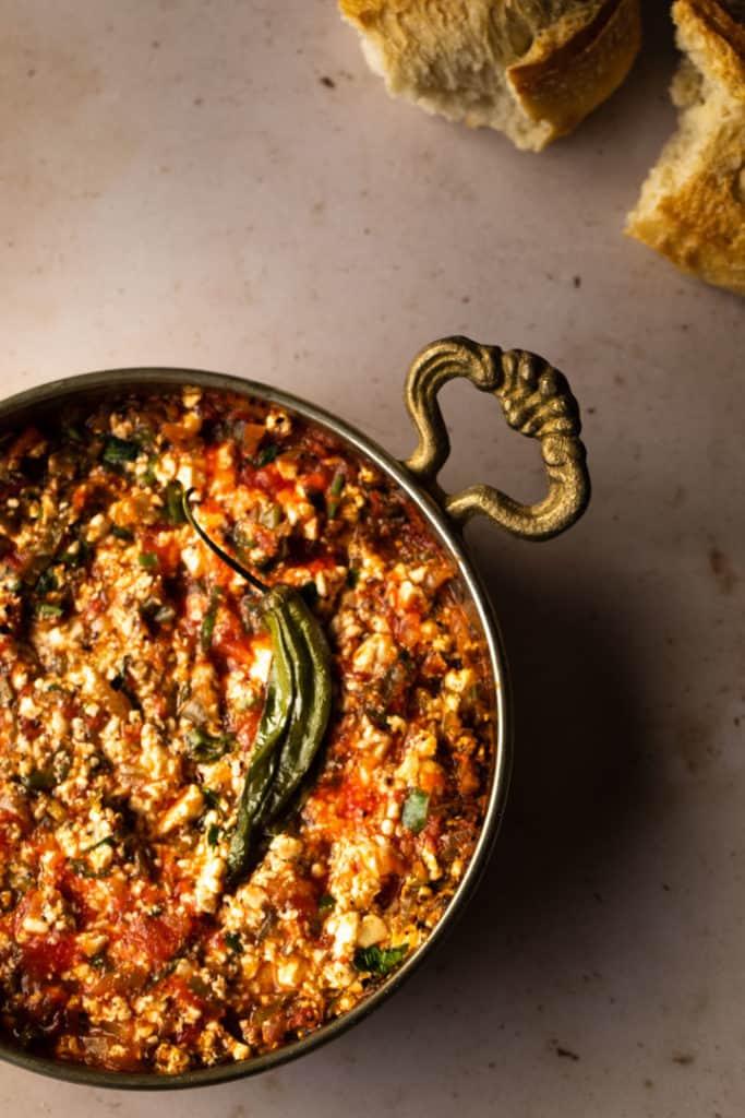Vegan Shakshuka Recipe - Turkish Menemen